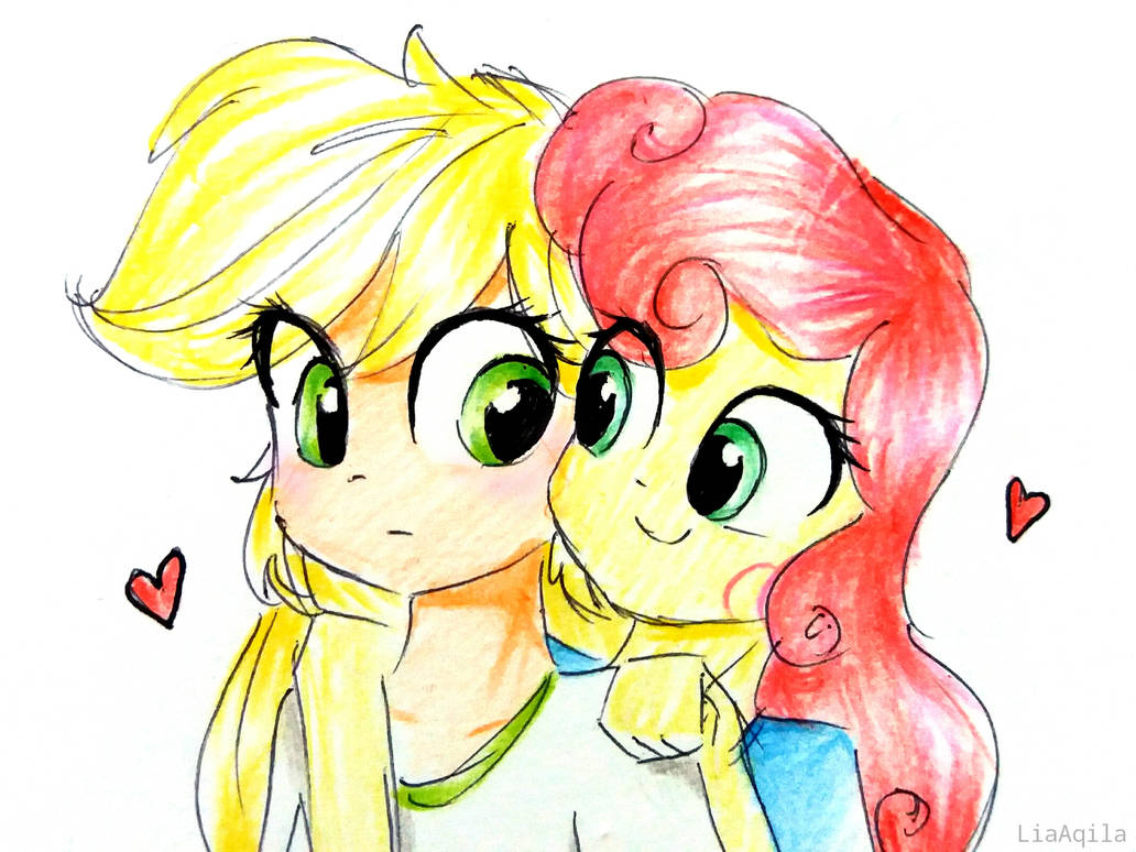 contest__apple_and_strawberry_by_liaaqil