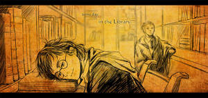 some day in the library by luosong