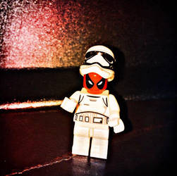 Deadpool is a Stormtrooper  by Alucard4