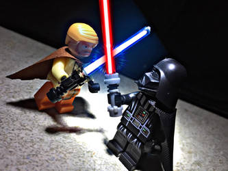 Obi Wan vs Darth Vader by Alucard4