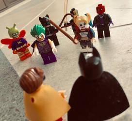 Batman y sus enemigos by Alucard4