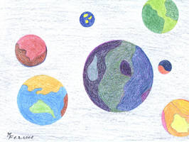 Planets by MichaFire