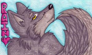 +Badge- Rain+ by angelwolf
