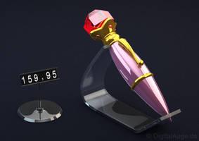 Sailor Moon Luna Pen 3D by digitalAuge