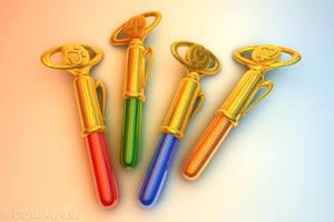 Sailor Pens 3D by digitalAuge