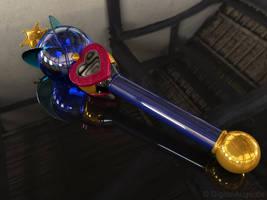 Uranus Lip Rod, Uranus Wand 3D by digitalAuge