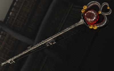 Sailor Pluto Rod / Stab 3D by digitalAuge