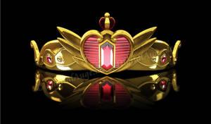 Queen Serenity Tiara Diadem Krone #2 by digitalAuge