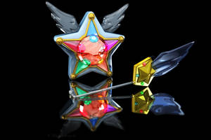 Sailor Starlight Headset and Yell 3D by digitalAuge