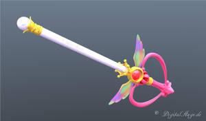 Sailor Moon Kaleido Moon Scope 3D Testrendering by digitalAuge