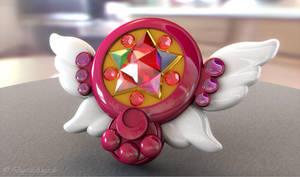Sailor Moon Moon Chalice 3D by digitalAuge