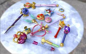 Sailor Moon 3D Stuff by digitalAuge