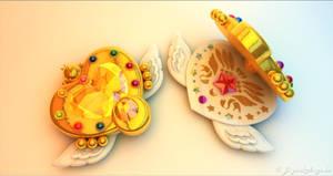 Sailor Moon Eternal Moon Article 3D - Brosche #2 by digitalAuge