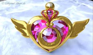 Sailor Moon - Crisis Moon Compact 3D #2 by digitalAuge