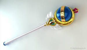 Neo Queen Serenity - Cutie Moon Rod Crystal 3D #2 by digitalAuge