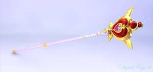 Fukano Sailor Moon Rod 3D #1 by digitalAuge