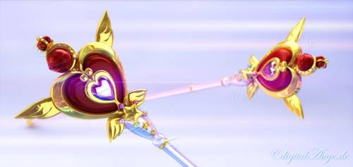 Fukano Sailor Moon Rod 3D #2 by digitalAuge