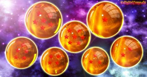 Super Dragon Balls by digitalAuge