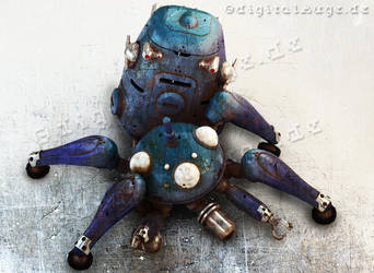 Ghost in the shell - Tachikoma 3D 3 by digitalAuge