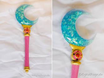 Sailor Moon Crystal - Moon Stick Prop by digitalAuge