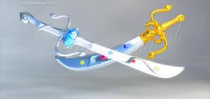 SM + SMC Space Sword 3D by digitalAuge