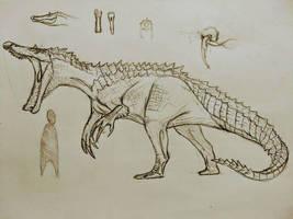 Hypo- baryonyx by Gustavolamaral
