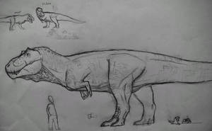 Elder-Tyrannosaurus Rex (v2) by Gustavolamaral