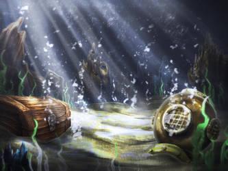 Underwater Speedpaint by JRTribe