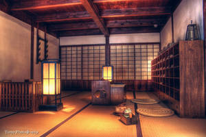 Ancient Japanese Room by WindyLife