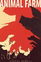 Animal Farm Cover by hanerethund