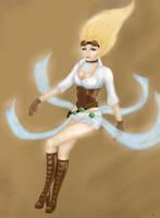 Hextech Janna League of Legends fanart by Chitsuki09131028