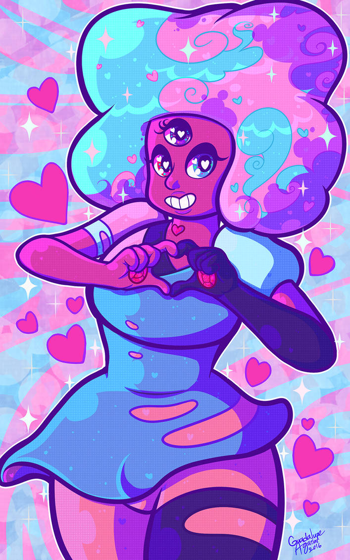 Took a small break from commissions to finish up some quick SU fanart. I've been wanting to do...