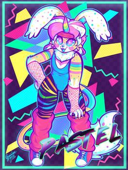 80's Retro Pastel by Dolcisprinkles