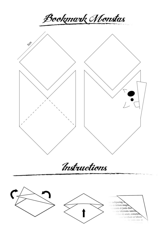 Bookmark Monstas by MattiAusmNorden