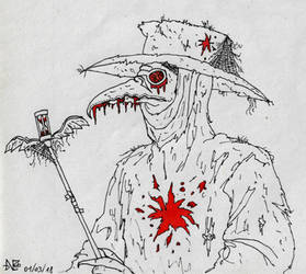 The Plague Doctor by Blackaddergoesforth