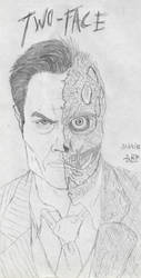 ARKHAM Two-Face by Blackaddergoesforth