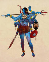 Kali by ilshatass