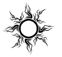 tribal sun by Gsaw
