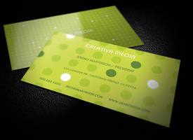 Creative business card template by LogoIdol by hugoo13