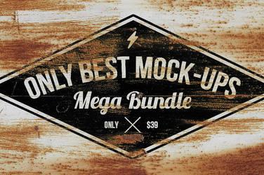 Only Best Mockups Mega Bundle by hugoo13