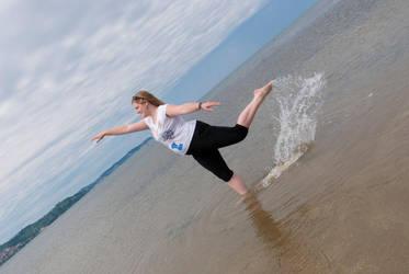 dancin in the water by NotKnownPerson