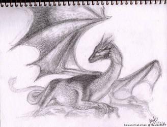 Dragon Sketch by kawaiismaksmak