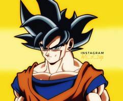 Ultra Instinct Goku by Ziga-13