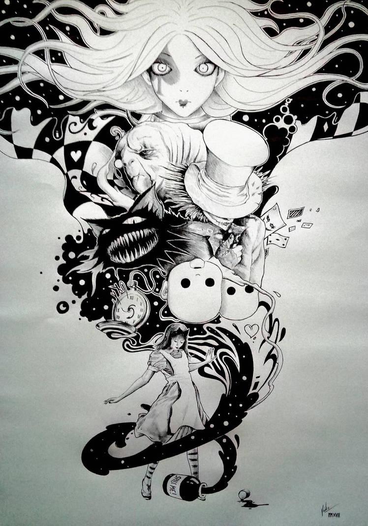 Alice by El3c7r0N