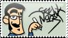 Gaunt Noir stamp by GauntNoir