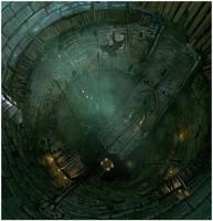 Dark well by pbario