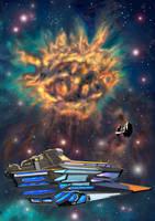 Spaceadventure by artlinerscum