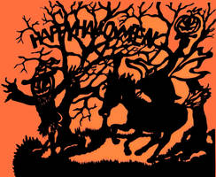 Halloween decorations. by artlinerscum