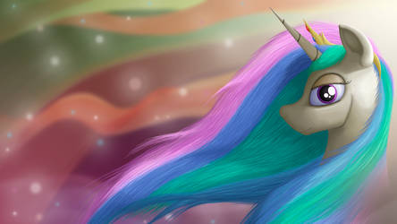 Princess Celestia Wallpaper Ver. 2.0 (1080p) by BCRich40