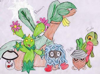 Grass Team by fwooshfrog